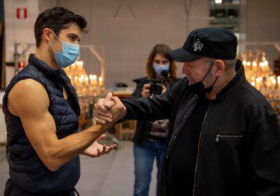 """Vasco Rossi primo ospite a """"Danza Con Me"""" di Roberto Bolle il 1° gennaio 2021 su RAI1"""